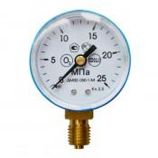Манометр кислородный ПТК 25 МПа