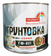 Грунт ГФ-021 серый РАДУГА STATUS (1,9кг)
