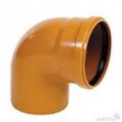 Отвод наружн. канализац. Ду 110х90* КТП (15)