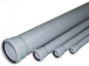 Труба внутр.канализац.РР диам. 50 длин. 250мм ст.1,8 VALFEX (150)