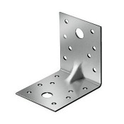 Уголок крепежный усиленный 90х90х65х2.0мм (50шт)