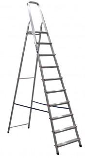 Лестница-стремянка  8 ступеней алюминиевая АМ708