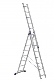 Лестница 3-секционная алюминиевая (5,04м)