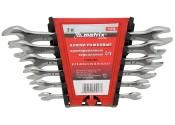 Набор ключей рожковых 6-32мм MATRIX хромированные (12 предметов)