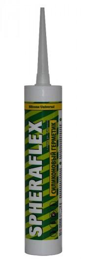 Герметик силиконовый SPHERAFLEX универсальный  прозрачный 300мл