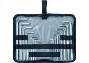 Набор ключей торцевых шестигранных удлиненных 1/16-3/4'' SAE, 17 предметов