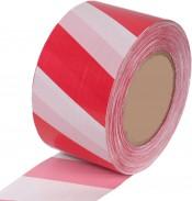 Лента сигнальная 50мм х 200м красно-белая (8)