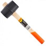 Киянка 340г SPARTA черная резина, деревянная рукоятка