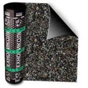 Материал кровельный гидроизоляционный ЛИНОКРОМ ТКП (сланец серый) (10м2)