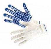 Перчатки с ПВХ 6Н Протектор Люкс класс 10 размер 24 (10) белые