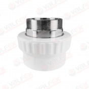 Муфта PP-R комбинированн разъемн белый Дн40х1 1/4'' НР VALFEX под ключ (25/5)