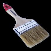 Кисть плоская натуральная щетина 75мм 3,0'' SANTOOL натуральная щетина деревянная ручка