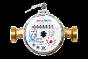 Счетчик воды универсальный ЭКО НОМ-15-110 + КМЧ + обр. клапан