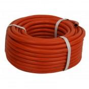 Рукав резиновый ГОСТ 9356 I-9,0мм ацетилен/пропан красный (40м)