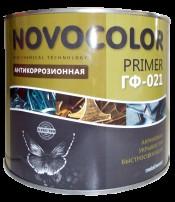 Грунт ГФ-021 красно-коричневый (1,9кг) Новоколор
