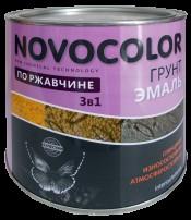 Грунт-эмаль 3 в 1 серый (20кг) Новоколор