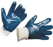 Перчатки МБС Нитрил синие манжет